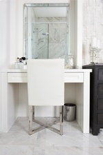 Modern Bathroom Dresser - Bathroom Renovations in Thornhill ON by Royal Interior Design Ltd
