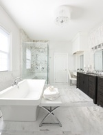 Master Ensuite Bathroom Renovations in Whitby by Royal Interior Design Ltd