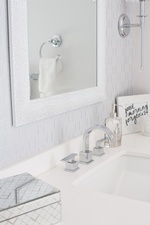 Vanity Sink Faucet - Bathroom Renovations Stouffville by Royal Interior Design Ltd