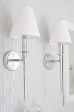 Wall Sconce Lighting - Bathroom Decor GTA by Royal Interior Design Ltd