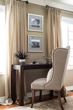 Bedroom Study Table with Accent Chair - GTA Bedroom Renovations by Royal Interior Design Ltd