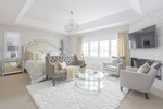 Sitting Area in Master Bedroom - Whitby Bedroom Renovations by Royal Interior Design Ltd