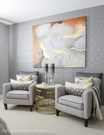 Canvas Painting on Wall - Bedroom Decoration Services Vaughan by Royal Interior Design Inc
