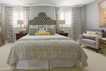 King Size Bed Pillow Arrangements - Bedroom Decor GTA by Royal Interior Design Inc
