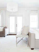 Bright White Bedroom Renovation Services in Markham by Royal Interior Design Ltd