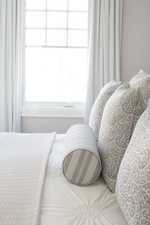Pillow Arrangements on Bed - Bedroom Decor Aurora by Royal Interior Design Ltd