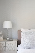 Side Table with Lamp - Bedroom Renovations Stouffville by Royal Interior Design Ltd
