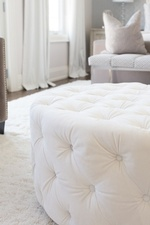White Ottoman - Bedroom Renovations Newmarket ON by Royal Interior Design Ltd