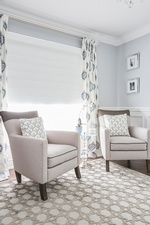 Accent Chairs Near Window - Aurora Bedroom Renovations by Royal Interior Design Ltd