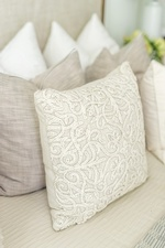 Decorative Bed Toss Pillows - Markham Bedroom Decor by Royal Interior Design Ltd