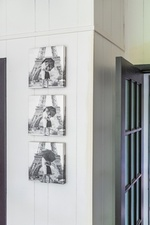 Family Photo Frames on Bedroom Wall - Bedroom Decor Stouffville ON by Royal Interior Design Ltd