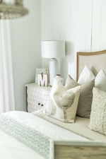 Side Table with Accents - Bedroom Renovation Markham by Royal Interior Design Ltd