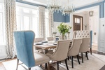 Luxury Dining Chair - Dining Room Decor GTA by Royal Interior Design Ltd