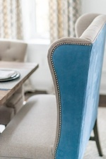 Modern Dining Chair - Dining Room Renovation Richmond Hill by Royal Interior Design Ltd