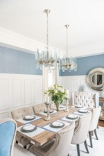 Modern Dining Room Renovations Stouffville by Royal Interior Design Ltd