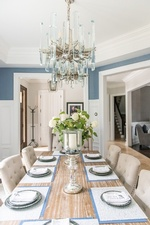 Neatly Arranged Dining Table - Dining Room Renovations Whitby by Royal Interior Design Ltd