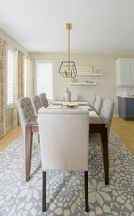 Dining Room Design Whitby by Royal Interior Design Ltd