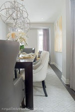 Modern Dining Room Design in Richmond Hill by Royal Interior Design Ltd