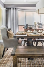 Rustic Dining Room Renovations Newmarket ON by Royal Interior Design Ltd