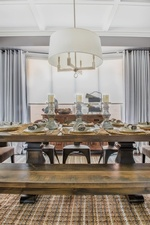 Rustic Dining Room Renovations Stouffville ON by Royal Interior Design Ltd