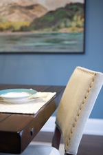 Modern Dining Chair - Dining Room Design Newmarket by Royal Interior Design Ltd