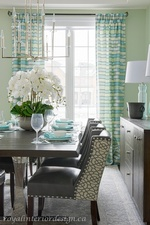 Fine Dining Table Arrangement - Dining Room Renovations Stouffville ON by Royal Interior Design Ltd