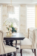 Dining Sofa - Dining Room Decoration Services Richmond Hill by Royal Interior Design Ltd