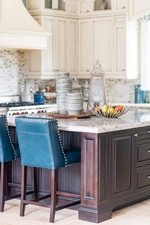 Kitchen Countertop with Accents - Markham Kitchen Renovations by Royal Interior Design Ltd