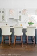 Kitchen Counter Chairs - Kitchen Renovations Thornhill by Royal Interior Design Ltd