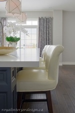 Leather Chairs - Kitchen Renovations Stouffville by Royal Interior Design Ltd