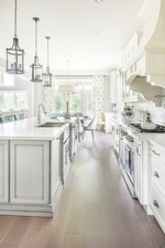 Bright White Kitchen - GTA Kitchen Renovation by Royal Interior Design Ltd