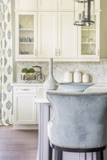 Grey Dining Chair - Kitchen Renovation GTA by Royal Interior Design Ltd