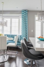 Modern Dining Chairs - Newmarket  Kitchen Renovations by Royal Interior Design Ltd