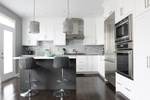 Modern Kitchen Renovations Stouffville by Royal Interior Design Ltd