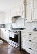 Crystal Chandelier - Kitchen Renovation Stouffville ON by Royal Interior Design Ltd