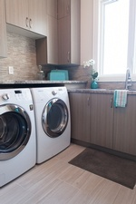 Laundry Renovation Stouffville by Royal Interior Design Ltd