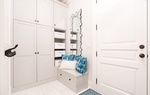 Simply White Mud Room Renovation Services Newmarket by Royal Interior Design Ltd