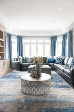 Modern Living Space Decorating Services Thornhill by Royal Interior Design Ltd