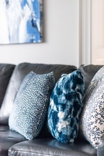 Sectional Throw Pillows - Living Space Renovation Services Vaughan by Royal Interior Design Ltd