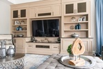 Entertainment Center - Thornhill Living Space Renovations by Royal Interior Design Ltd