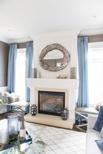 Hearth - Living Space Decor Markham by Royal Interior Design Ltd