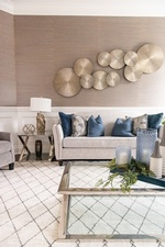 Modern Wall Art - Living Space Design in Markham by Royal Interior Design Ltd