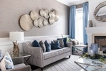 Modern Wallart - Living Space Renovations Whitby by Royal Interior Design Ltd