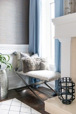 Throw Pillows on Bench - Living Space Decorating Services Aurora by Royal Interior Design Ltd