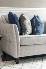 Throw Pillows on Sofa - Living Space Renovations Whitby by Royal Interior Design Ltd