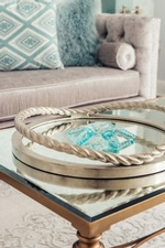 Decorative Table Accent - Living Space Decorating Services Vaughan by Royal Interior Design Ltd