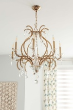 Modern Chandelier - Living Space Renovations GTA by Royal Interior Design Ltd