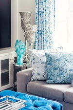 Decorative Throw Pillows on Couch - Living Space Decorating Services Thornhill by Royal Interior Design Ltd