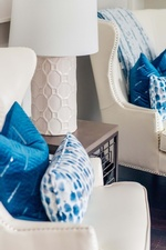 Modern Table Lamp Shade - Living Space Renovations Stouffville by Royal Interior Design Ltd