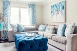 Modern Living Room Furniture - Living Space Renovations Whitby by Royal Interior Design Ltd